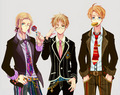 England France America - hetalia photo