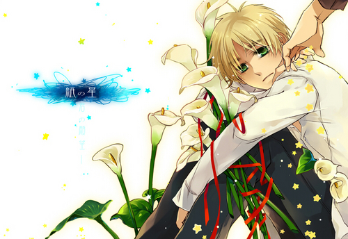 Hetalia: England wallpaper probably with a bouquet titled England
