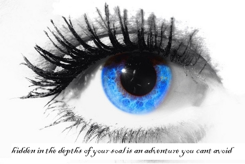 Quotes wallpaper entitled Eye of Wisdom