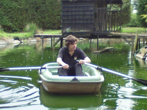Flirty Harry Canoeing Rare Pic :) x