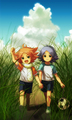 Atsuya and  Shirou Fubuki - inazuma-eleven photo