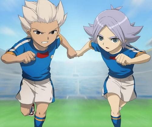 Fubuki Shirou and Gouenji Shuuya