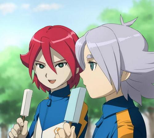 Fubuki Shirou and Kiyama Hiroto