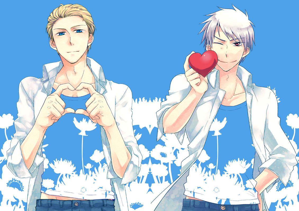 Hetalia Prussia and Germany