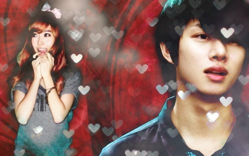 Super Generation: Super Junior & Girls' Generation wallpaper entitled HeeSica (Heechul & Jessica)