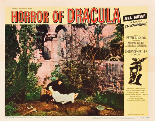 Dracula দেওয়ালপত্র possibly containing জীবন্ত entitled Horror of Dracula