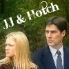 Hotch & JJ foto with a portrait entitled Hotch & JJ