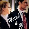 Hotch & JJ 写真 probably containing a business suit and a judge advocate entitled Hotch & JJ