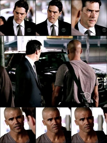 Hotch & morgan