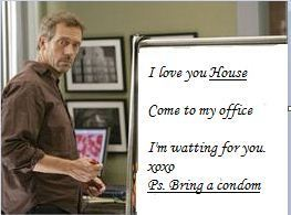 House - Cuddy asked for a condom