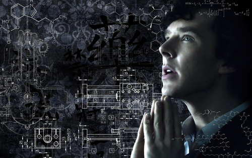 How he sees the world - sherlock-on-bbc-one Wallpaper