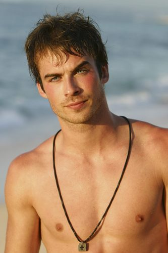 Ian Somerhalder Hintergrund possibly containing skin entitled Ian