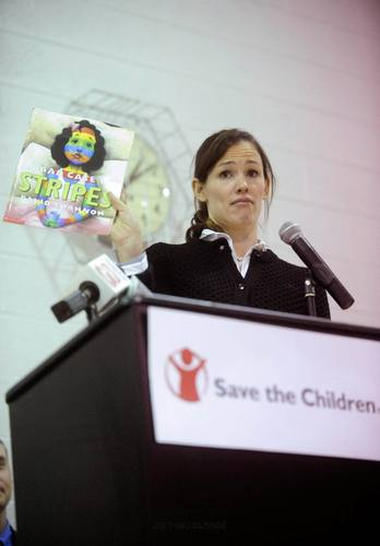 Jen @ The Launch of Six Save The Children