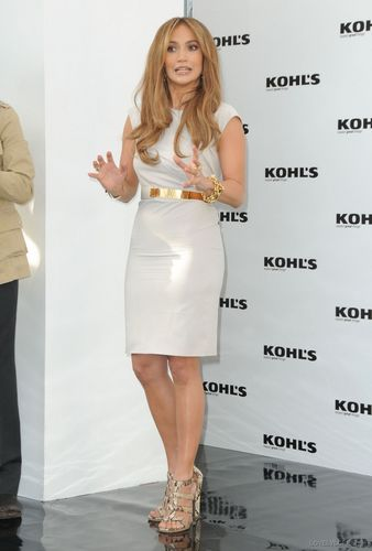 Jennifer @ Press Conference for Kohl's Department Stores project
