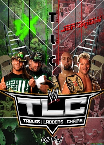 JeriShow vs DX - TLC 2009 poster