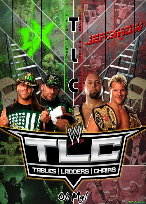 JeriShow vs DX - TLC 2009 poster