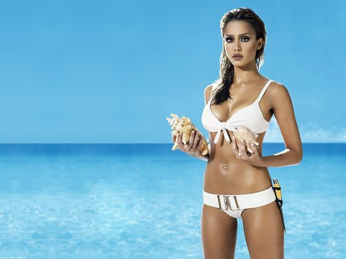 jessica alba wallpaper probably with skin called JessiCa