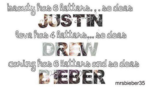Justin.Drew.Bieber ♥