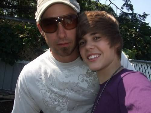 Justin and his dad