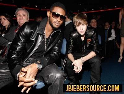 Justin in the audience