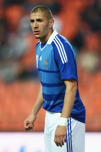 K. Benzema playing for France