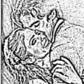 Kaka and Caroline.