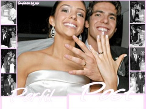 Kaka and Caroline's wedding pics