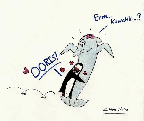 Kowalski luvs Doris!!! <3