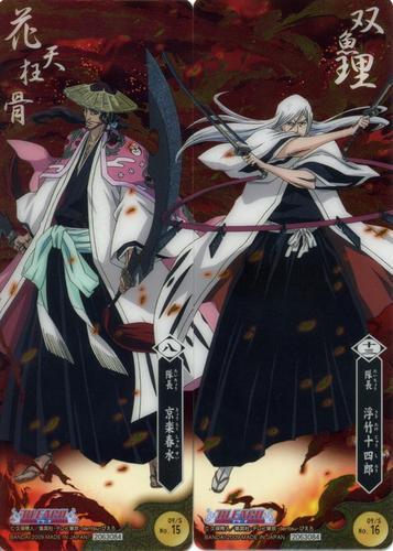 Kyoraku and Ukitake