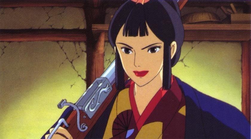 princess mononoke forest spirit. Lady Eboshi - Princess