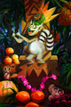 Lemur Painting - king-julien-official-club photo