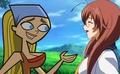 Lindsay meet to Ryuubi - total-drama-island fan art