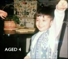 Little Zayn Practicing His Dance Moves Aww How Cute :) x