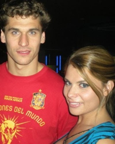 Llorente and a spanish porno star