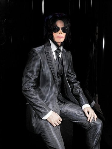 Michael Jackson Legacy 壁紙 with a business suit, a well dressed person, and a suit titled MJ Photoshop