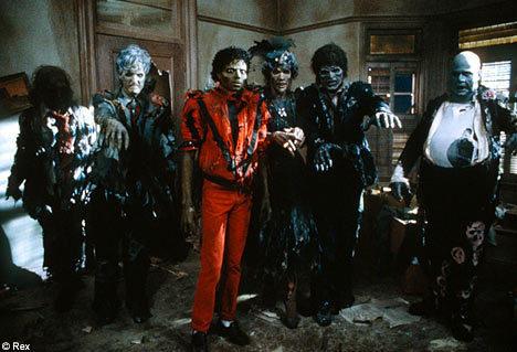 MJ thriller...<3