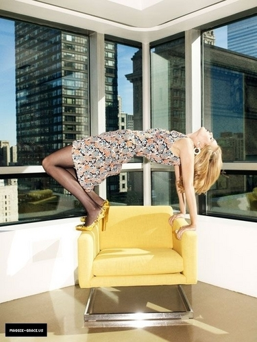 Maggie Grace - Glamour Outtakes (2010)