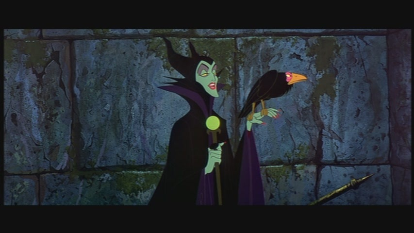 "Maleficent in ""Sleeping Beauty"""