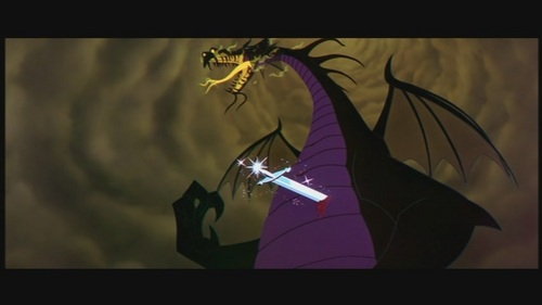 """Maleficent achtergrond entitled Maleficent in """"Sleeping Beauty"""""""