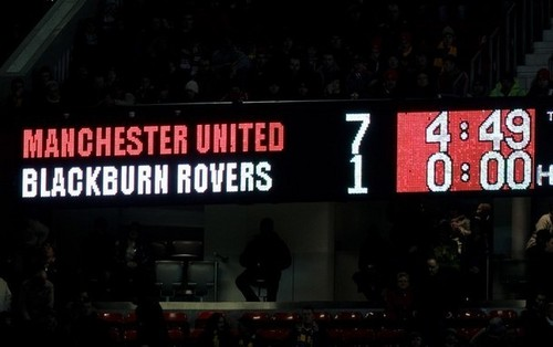 Manchester United (7) vs Blackburn (1) - manchester-united Photo