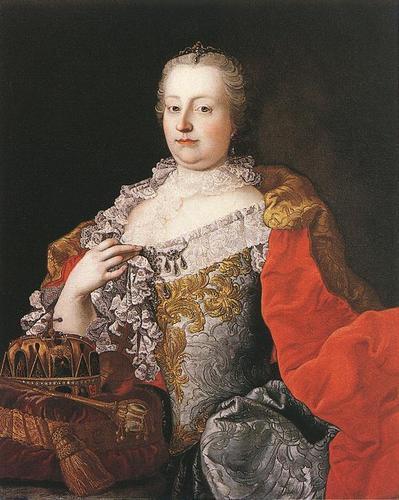 Maria Theresa of Austria, Hoky Roman Empress