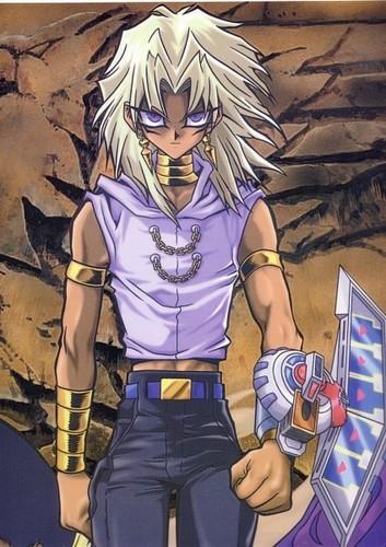 Yu-Gi-Oh fond d'écran containing animé titled Marik Ishtar 3