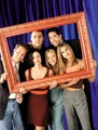Matt LeBlanc, David Schwimmer, Matthew Perry, Courteney Cox, Lisa Kudrow, and Jennifer Aniston