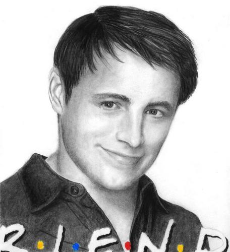 Matt LeBlanc 'Friends' by Kitsunegari16 at DeviantART - matt-le-blanc Fan Art
