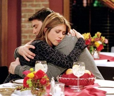 Joey Tribbiani (Matt LeBlanc) and Rachel Green (Jennifer Aniston)