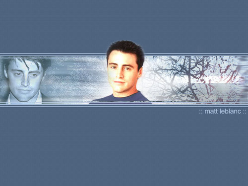 Joey Tribbiani wallpaper titled Matt LeBlanc wallpaper