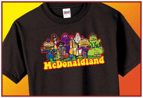 McDonaldland कमीज, शर्ट