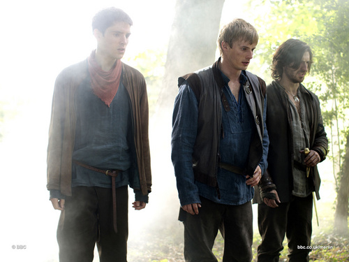 Merlin, Arthur & Gwaine