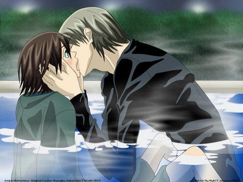 Misaki and Akihiko Kiss