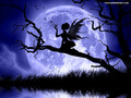 Moonlight Fairy - magical-creatures wallpaper